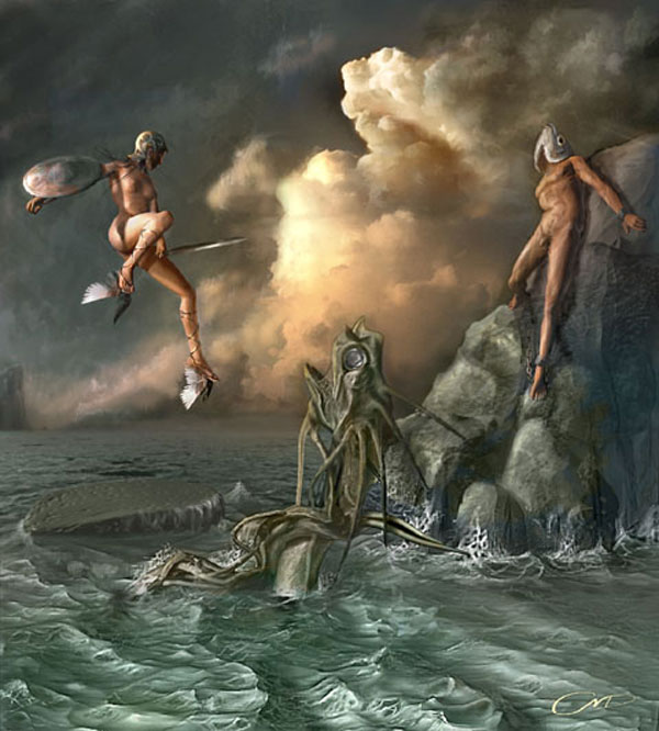 Modern surrealism fantasy art gallery surrealist pictures for Cool fantasy drawings