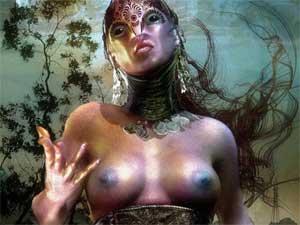 the best online artists artworks, surrealism fantasy art image